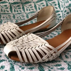 Bamboo vintage style sandals